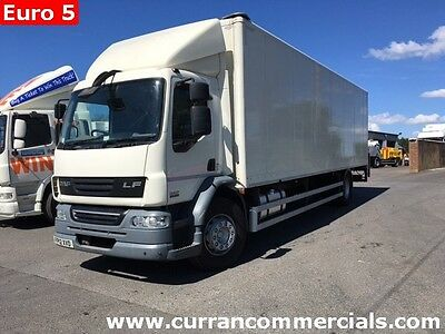 2012 Daf LF 55.220 18 Ton 4x2 on air 28ft box body with 1.5tm tail lift