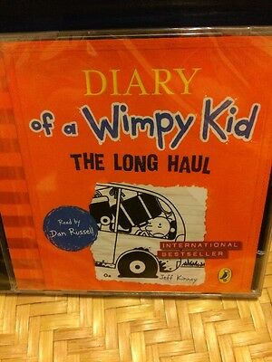 The Diary Of A Wimpy Kid-The Long Haul-2CD Audio-new/sealed