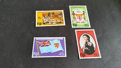 Fiji 1980 Sg 604-607 10Th Anniv Of Independence Mnh