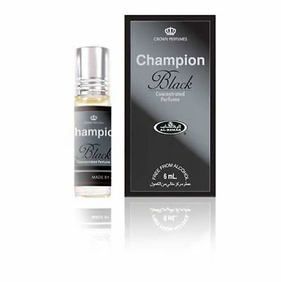 Champion Black 6ml by Al Rehab Oriental Perfume Attar Itr Roll on Oil Eid Gift