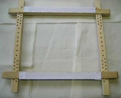 "NEW ITA 24x24"" TRADITIONAL SLATE FRAME for CROSS STITCH, embroidery, etc"
