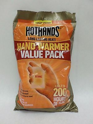 Hot Hands Hand Warmers 10 Pair Value Pack Winter Heater Disposable New Exp 11/19