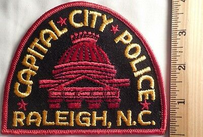 Raleigh North Carolina Police Patch (Highway Patrol, Sheriff, Ems, State)