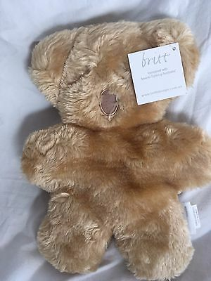 Genuine Britt honey brown Bear RRP $39 Australian Designed