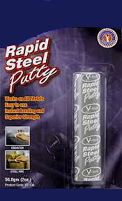 (SW) RAPID STEEL Fuel Petrol / Diesel Tank Repair Putty Paste MC17/5