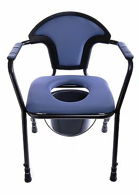 Open Adjustable Commode Chair