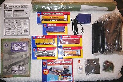 NEW Life-Like Train Set JC Penney Mainline Junction HO Scale Features POWER-LOC