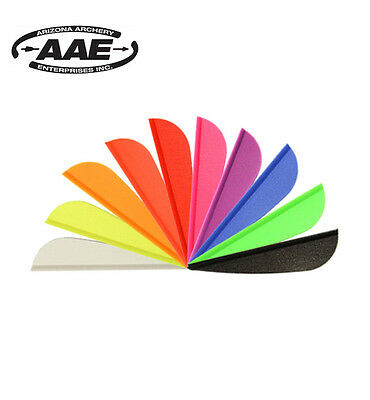 Arizona AAE Elite plastifletch EP16 vanes for Arrows Archery Fletchings per doz