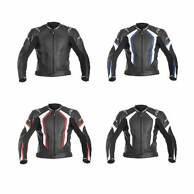 RST R-14 Leather Motorcycle / Motorbike Jacket