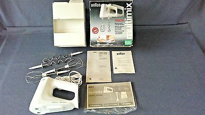 Braun M810 Multimix-Gourmet Edition-Deluxe Hand Mixer~For Parts Or Not Working