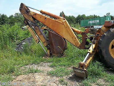 Model 510 John Deere Backhoe... Extended  Boom W/ Bucket...  See Scans