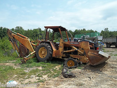 Model 510 John Deere Backhoe...front Loader  W/ Bucket...  See Scans