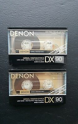 Denon Dx 90 (×2) : 1990 : Made In Japan : New & Sealed