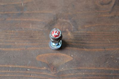 Vintage Raleigh R Nut Seat Post Locking Clamp Bolt Washer Steel Road Bike 1980's