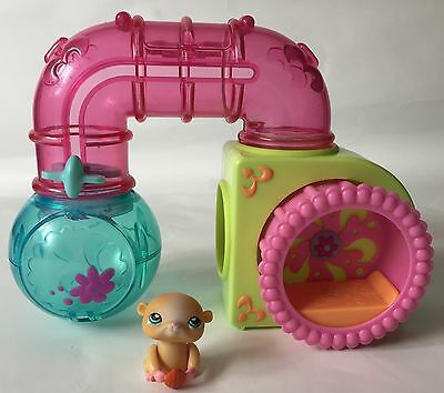 Littlest Pet Shop - Hamster Hideout Playset - Complete / Boxed - LPS, Hasbro
