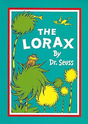 The Lorax, Dr Seuss, Book, New A4 Paperback