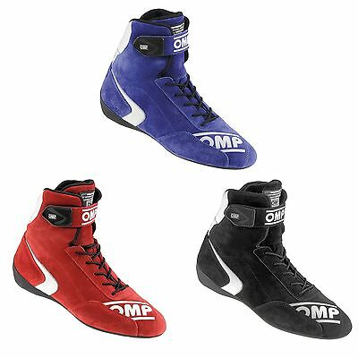 OMP First High FIA Approved Racing-Rally-Race-Driving Boots