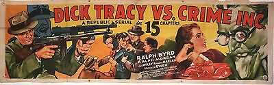 Dick Tracy Vs. Crime Inc. 1941  Banner