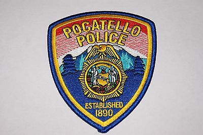 Pocatello Police Shoulder Patches