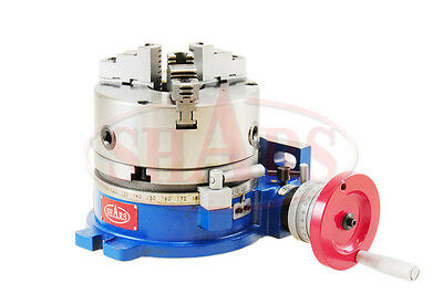 """10"""" Horizontal and Vertical ROTARY TABLE W/ 10"""" 3 JAW CHUCK NEW $320.03 OFF"""