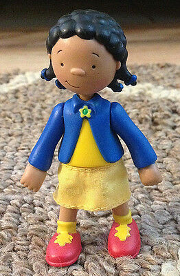 PBS Caillou CLEMENTINE Poseable Figure~Treehouse Replacement Toy~Rare