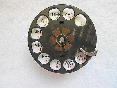 Western Electric Telephone #5 Dial Phone Old Antique Vintage Restoration Repair