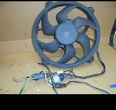 Genuine Peugeot 407 Citroen C5 Radiator Cooling Fan 2.0 Hdi RHR 16v Bargain