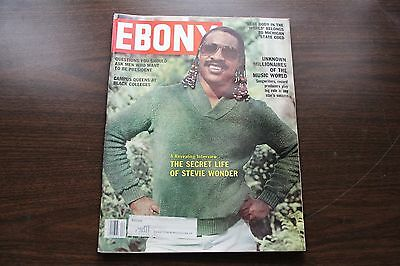 Vintage Ebony Magazine April 1980 - The Secret Life Of Stevie Wonder