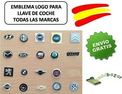 Emblem Key Command Car Sticker Key Citroen Peugeot Audi Bmw Kia Alfa Fiat