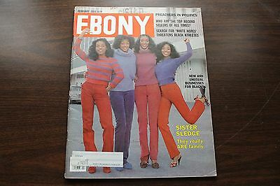 Vintage Ebony Magazine February 1980 - Sister Sledge: The Really Are Family