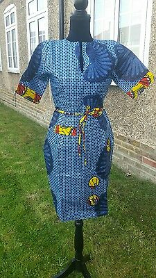very beautiful african print dress available in size 12 UK