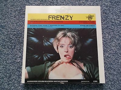 """Super 8Mm Colour/sound Alfred Hitchcocks """" Frenzy """" 400Ft Spool/box"""