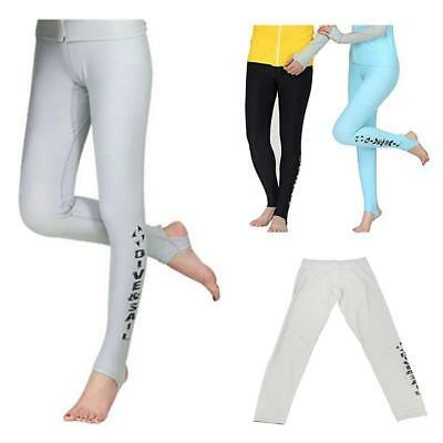 Women Super Stretch Wetsuit Diving Pants Snorkeling Surf Leggings Foot Trousers
