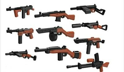 Brickbums Custom World War 2 Weapons Pack Designed For Lego Minifigs New