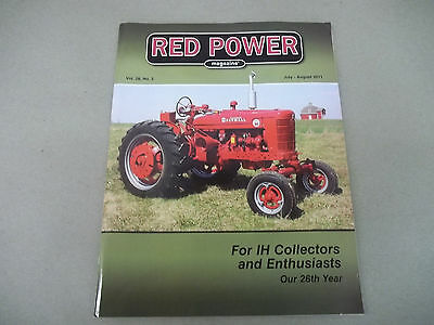 International Harvester Red Power Magazine Vol.26,No.2. July-Aug.  2011 Edition