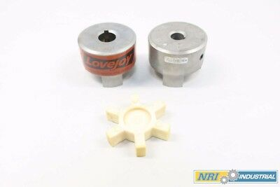 New Lovejoy 11739 49700 L-110 1 In X 19 Mm Steel Jaw Coupling Assembly D564357