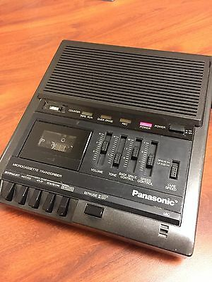 Panasonic Microcassette Transcriber RR-930 made in Japan, w/Foot Pedal, Tested