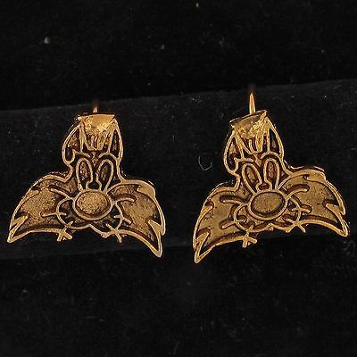 EARRINGS Sylvester Cat WARNER BROS LOONEY TUNES Gold FACE WB STORE 5133