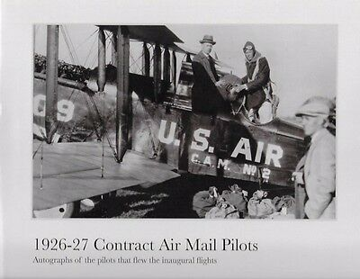 """""""1926-27 Contract Air Mail Pilots"""". Limited Edition Photo Book by Lee Downer"""