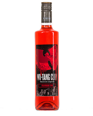 Wu Tang Clan Strawberry & Lime 700mL bottle Liqueur Victoria