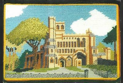 Dunstable, Bedfordshire - Priory Church -kneeler embroidery 1997 - postcard