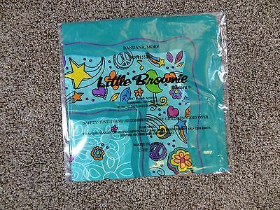 NEW GIRL SCOUTS Little Brownie Bakers DRAGONFLY Butterfly FLOWERS Bandana SCARF