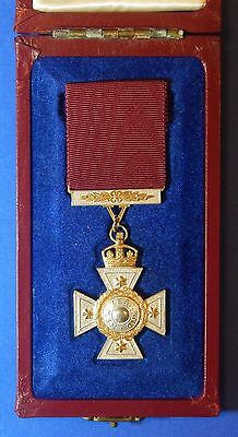 British New Zealand Cross In Case Awarded For Maori Wars 1860 - 1872 Copy Ab0070
