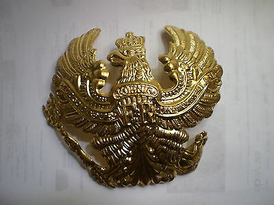 German Pickelhaube Brass Prussia helmet Badge Prussian
