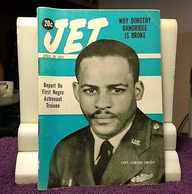 JET ~April 18 1963 Report On First Negro Astronaut Trainee  Vol. 23 No. 26