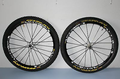 MAVIC CROSSMAX ST MOUNTAIN BIKE WHEELS 26'' MTB 135mm QUICK RELEASE