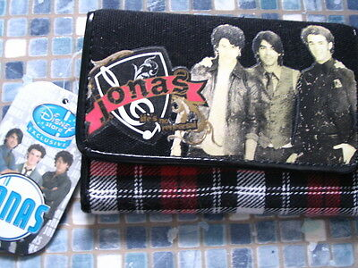 Disney Store Jonas Brothers Life's no Rehersal Wallet BRAND NEW! VERY RARE