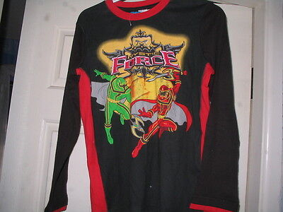 Disney Store Power Rangers Mystic Force Top Age 11/12 Brand New!! Rare