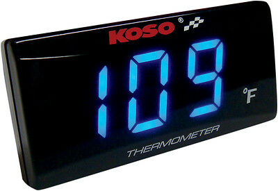 Koso North America H2o Temp Gauge Ultra Thin 2212-0312