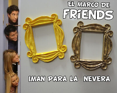Friends TV show serie iman nevera marco friends peephole frame fridge magnet